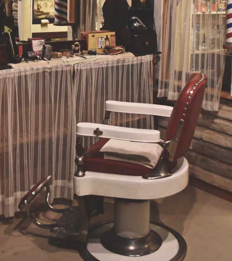 Nose Creek Valley Museum - Barbershop